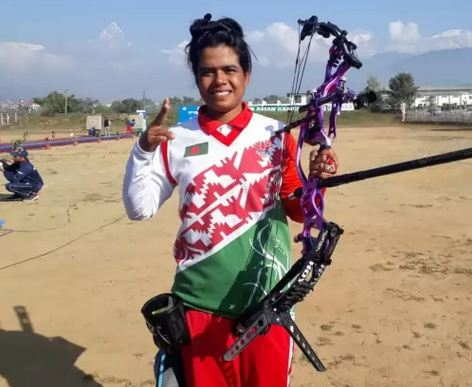 Bangladesh's Suma Bishwas secures 7th gold in Archery