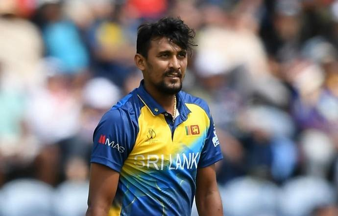 Sri Lanka's Suranga Lakmal after contracting dengue fever  --GETTY IMAGES