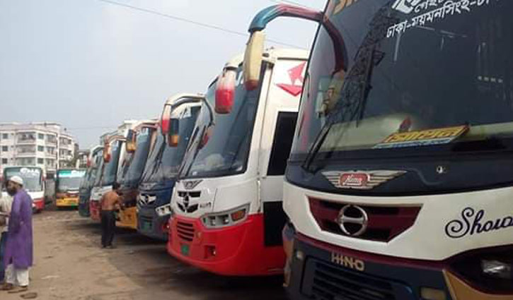 Bus plying in all routes from M'singh halted