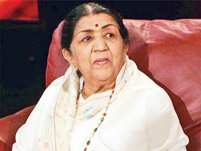 Lata Mangeshkar returns home