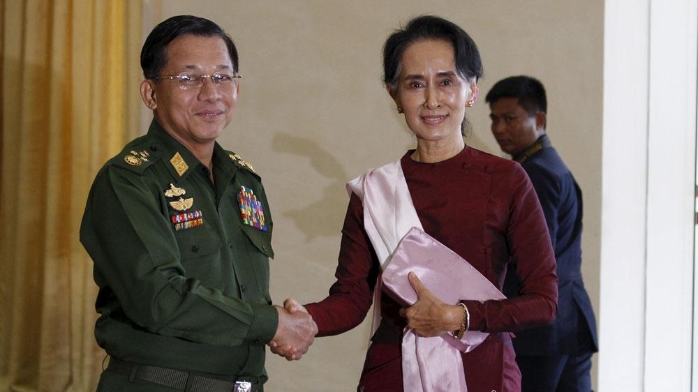 US blacklists head of Myanmar military