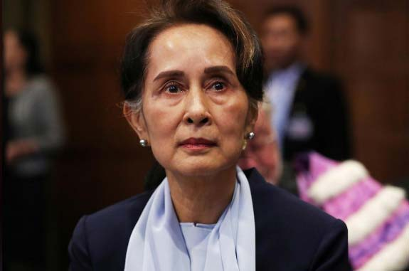 """Suu Kyi rejects genocide case as """"misleading and incomplete"""""""