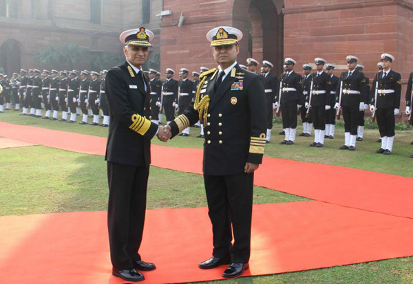 Navy Chief meets Indian counterpart