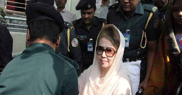 Khaleda's bail hearing begins; Security beefed up