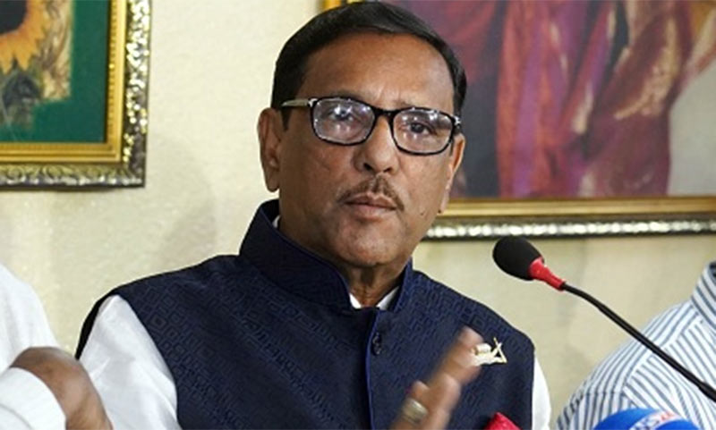Govt has nothing to do with Khaleda's bail: Quader