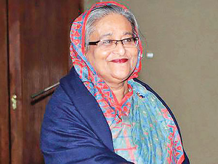 Hasina among most powerful women by Forbes