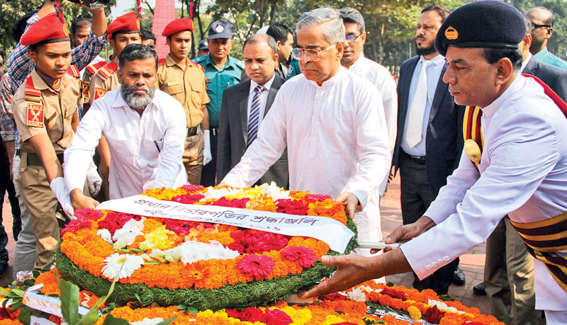 Tributes to martyred intellectuals