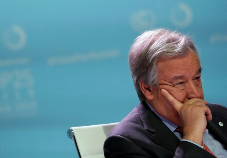 UN climate talks a 'lost opportunity', says Guterres