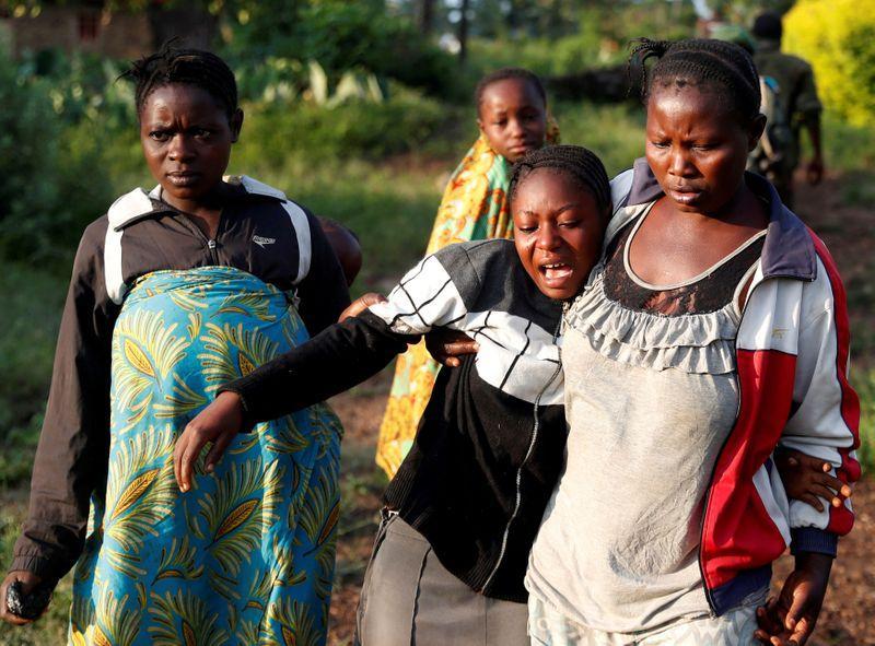 Militants kill 22 in eastern Congo