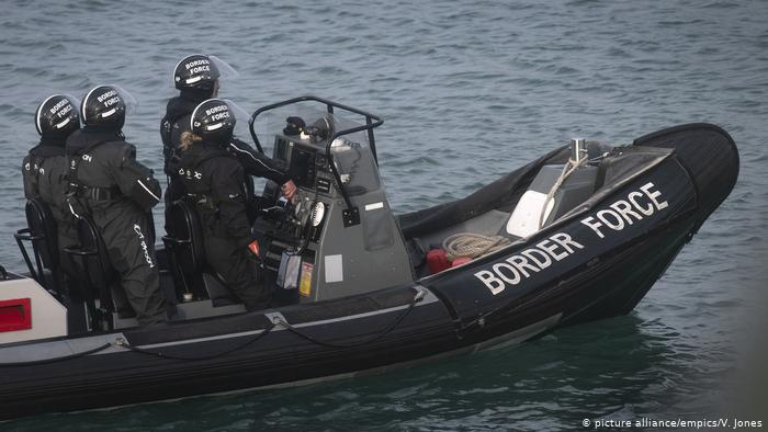 Dozens of migrants intercepted in English Channel