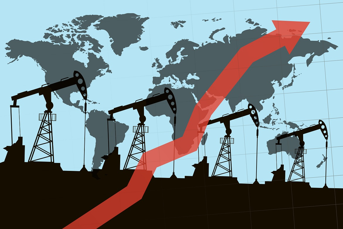Oil prices set for biggest rise since 2016