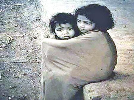 Sufferings of poor in winter season
