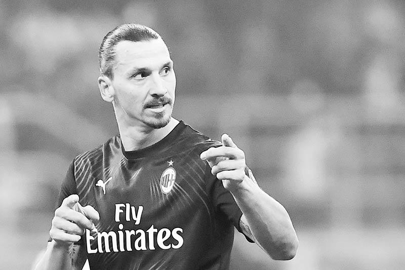 Ibrahimovic waiting for 'God' celebration as Atalanta stall leaders Inter