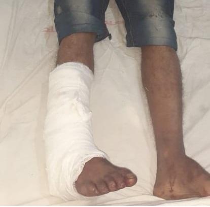 Injured Jubo League activist --Observer