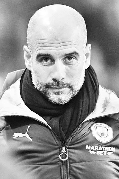 Manchester City's manager Pep Guardiola.photo: BCB