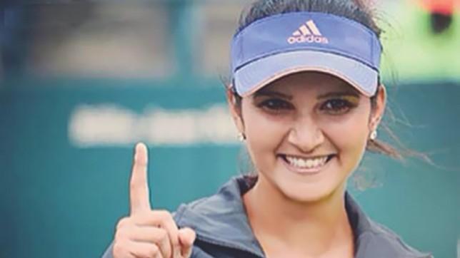 Mirza enjoys winning return after having baby