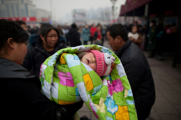 The government relaxed its one-child policy in 2016 to allow people to have two children, but the change has not resulted in more pregnancies.Photo: AFP