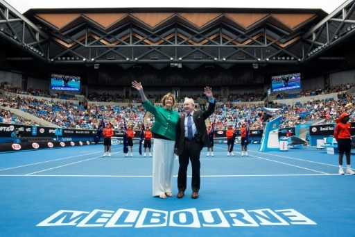 Margaret Court and Rod Laver are Australia's two greatest tennis champions TENNIS AUSTRALIA/AFP