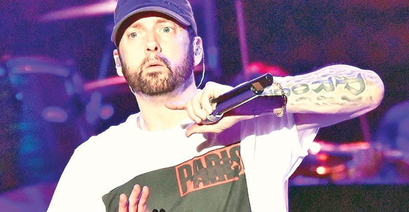 Eminem criticised for rap about Manchester bombing