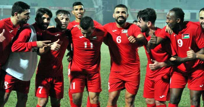 Palestine reach semis beating Sri Lanka 2-0