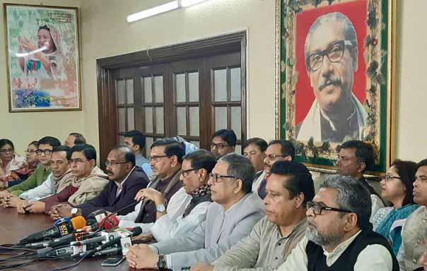 BNP spreading propaganda over EVM: Quader