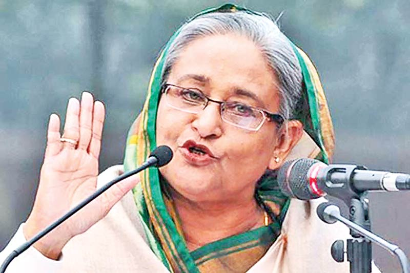 Prime Minister Sheikh Hasina urged the relevant authorities last Thursday to take steps to prop up the markets, that has been losing over the past months.