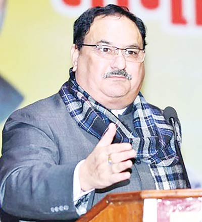 BJP picks Nadda to replace Amit Shah as its president as challenges mount