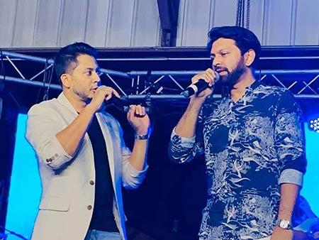 Tahsan and Shovan enthrall audiences at the Deshi Winter Fest 2020