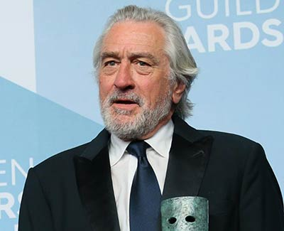 Robert De Niro presented the case for activism by actors and athletes