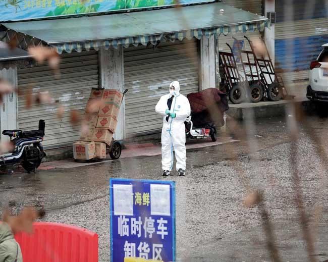 New virus adapting and mutating: China