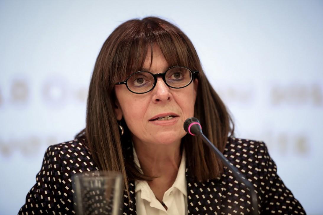 Ekaterini Sakellaropoulou.Photo: AFP