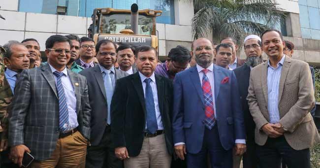 BGMEA building demolition work begins
