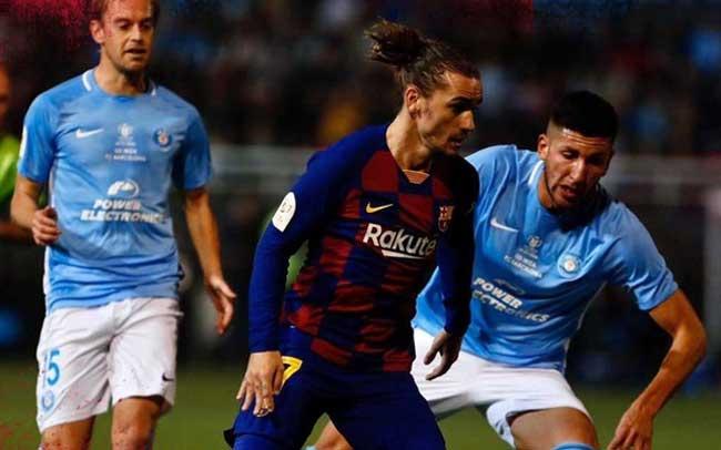 Barca overcome Ibiza scare
