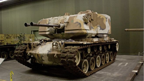 The M247 Sergeant York was abandoned by the US Army in 1985