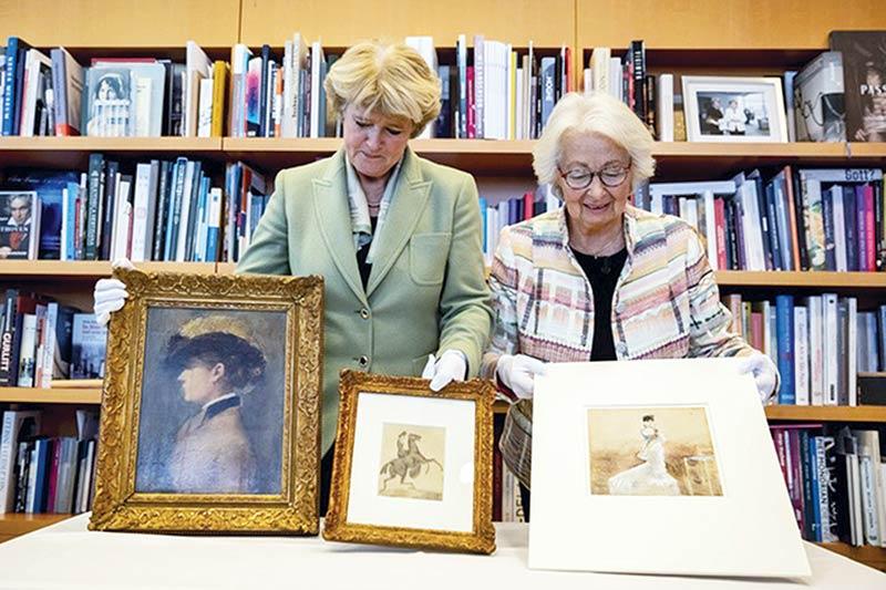 Germany returns Nazi art from Gurlitt trove to French family