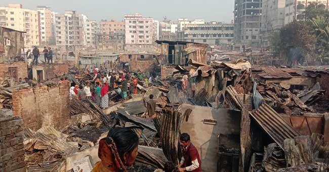 City slum fire: Burnt victim dies