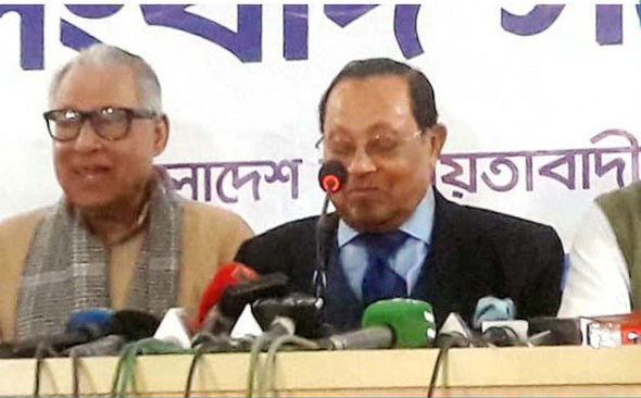 Bangladesh under grip of 'one-party rule': Moudud