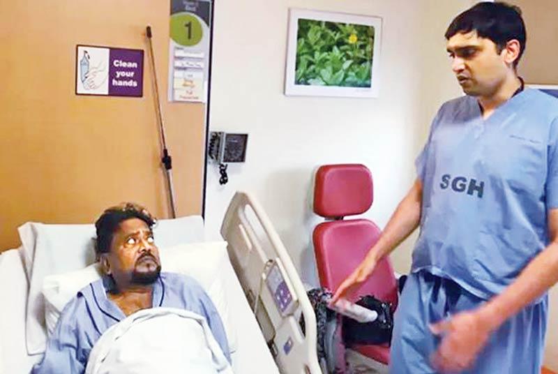 Andrew Kishore's health condition deteriorates