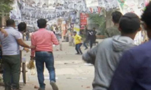 AL-BNP clash in Gopibagh during campaign