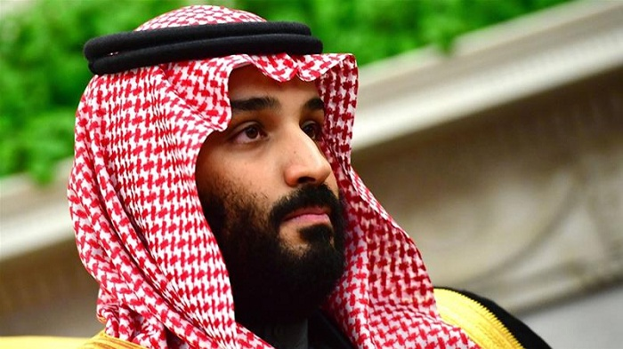 Saudi Arabia's Public Investment Fund, Crown Prince Mohammed bin Salman's key investment vehicle, along with a group of investors led by British financier Amanda Staveley are making an offer for Newcastle United, Dow Jones reported [File: Kevin Dietsch/Pool via Bloomberg]