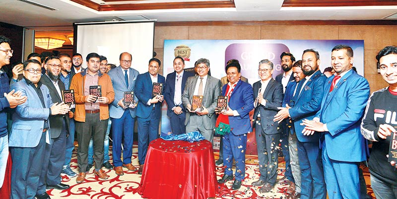 Launching ceremony of the book 'Fire Your Boss' held in city
