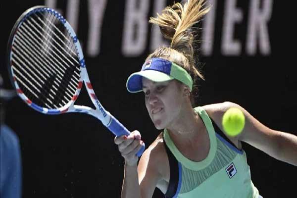 Sofia Kenin 1st semifinalist at Australian Open