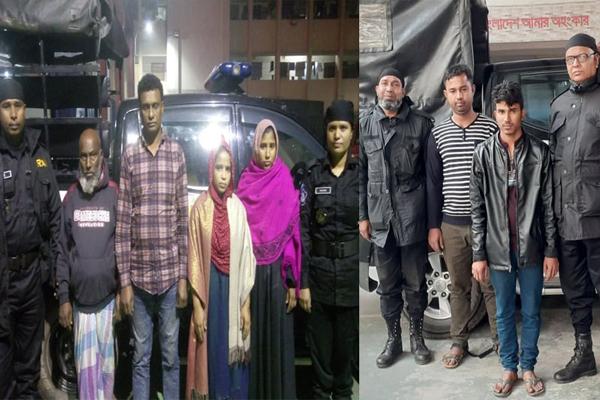 Women among 6 drug traders held in city