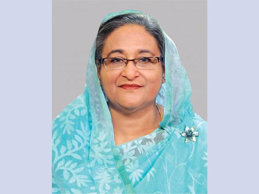 PM Hasina addressing the nation