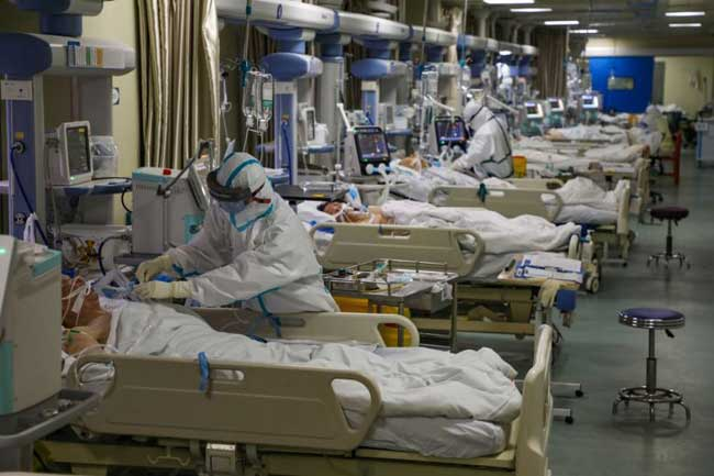 Coronavirus epidemic reaches bleak milestone, exceeding SARS toll
