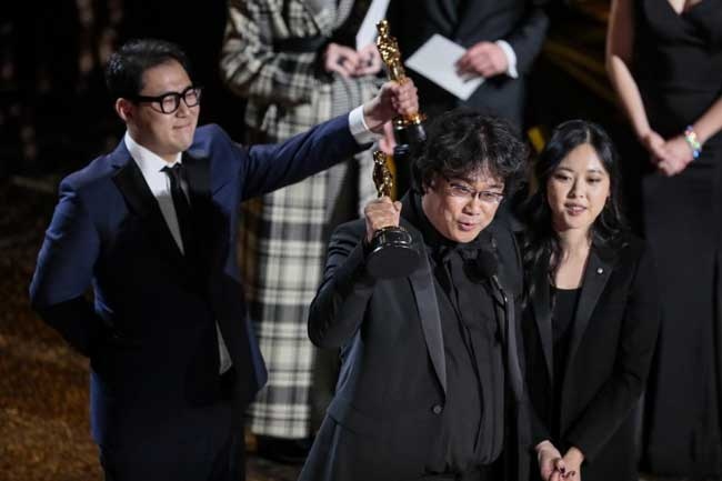 South Korea's 'Parasite' makes Oscar history