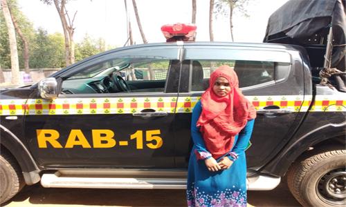 Woman held with Yaba