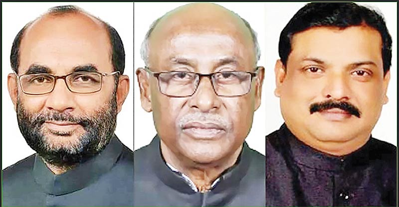 Portfolios of minister, 2 state ministers changed