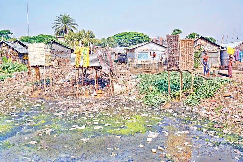 Health policy planning for slum-dwellers