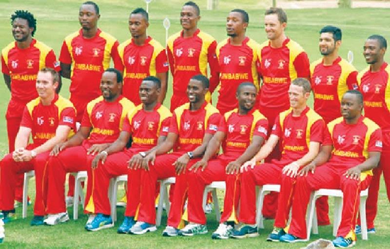 Zimbabwe Cricket Team Zoom Background 5